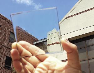 Solares transparentes